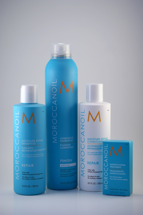 MoroccanOil Shampoo, Conditioner, Hairspray and Treatment Serum