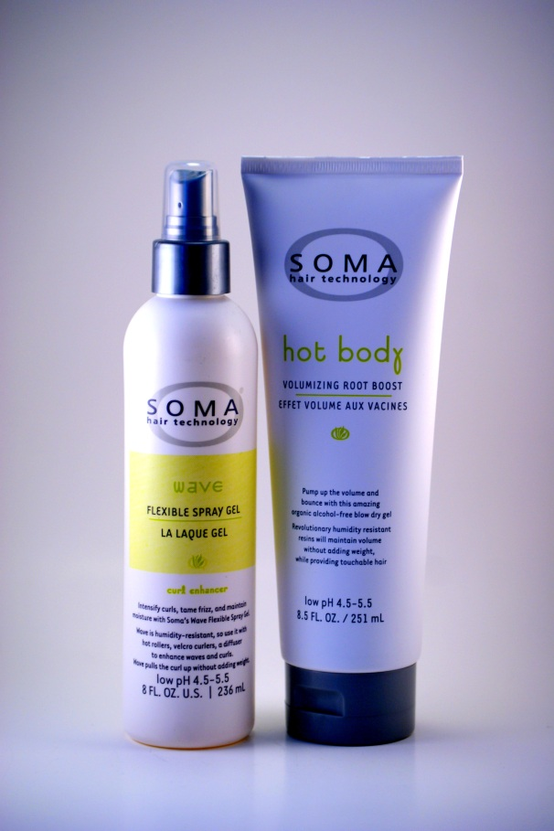 Soma Flexible Spray Gel & Voluminizing Root Boost