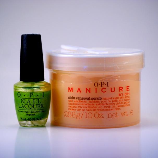 OPI Nail Polish /Manicure Skin Renewal Scrub