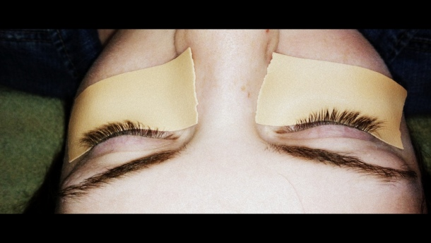 Before Permanent False Lashes