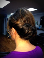 Up-do (back) by Michelle