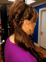 Up-do (side) by Michelle