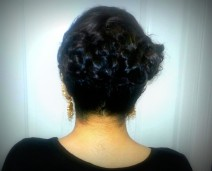 Up-do Back by Renee