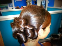 Bridal Up-do by Renee